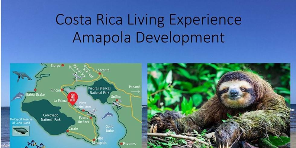 Costa Rica living experience Amapola Development