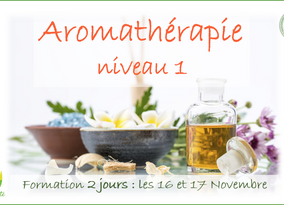 Formation tout public en Aromathérapie, les 16 et 17 Novembre… Venez nombreux!!