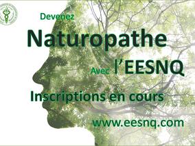 Automne 2018 : Inscription au programme de Naturopathe en cours...