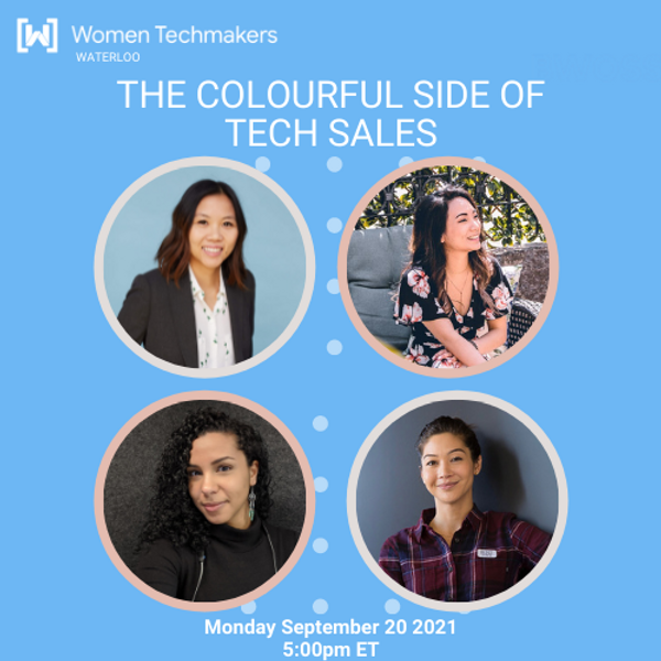 The Colourful Side of Tech Sales:  Women who are blazing the trail in breaking barriers, in Tech Sales.