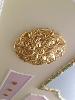 Gilded Ceiling Rose
