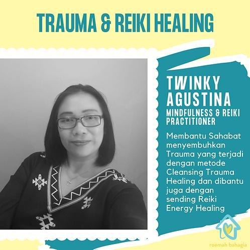 TRAUMA & REIKI HEALING:TWINKY AGUSTINA