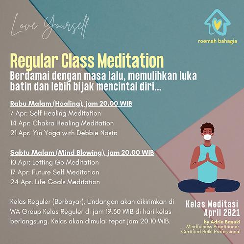 April Reguler Class - 7 Classes