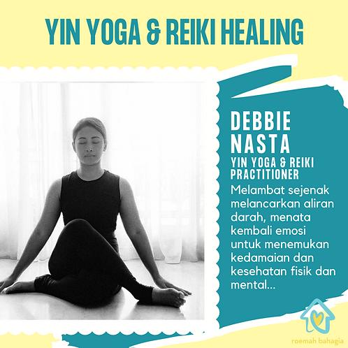 YIN YOGA & REIKI HEALING: DEBBIE NASTA