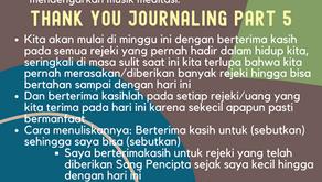 Thank You Journaling Part 1-6