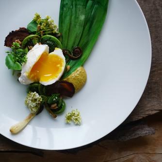 Chef's foraged salad