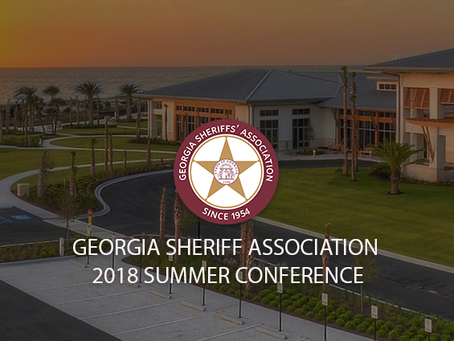 RANDOLPH COUNTY SHERIFF EDDIE FAIRBANKS ATTENDS THE GEORGIA SHERIFF'S ASSOCIATION SUMMER CONFERENCE