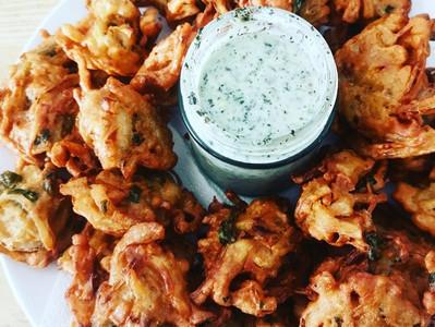 Onion Bhaja/Pakora