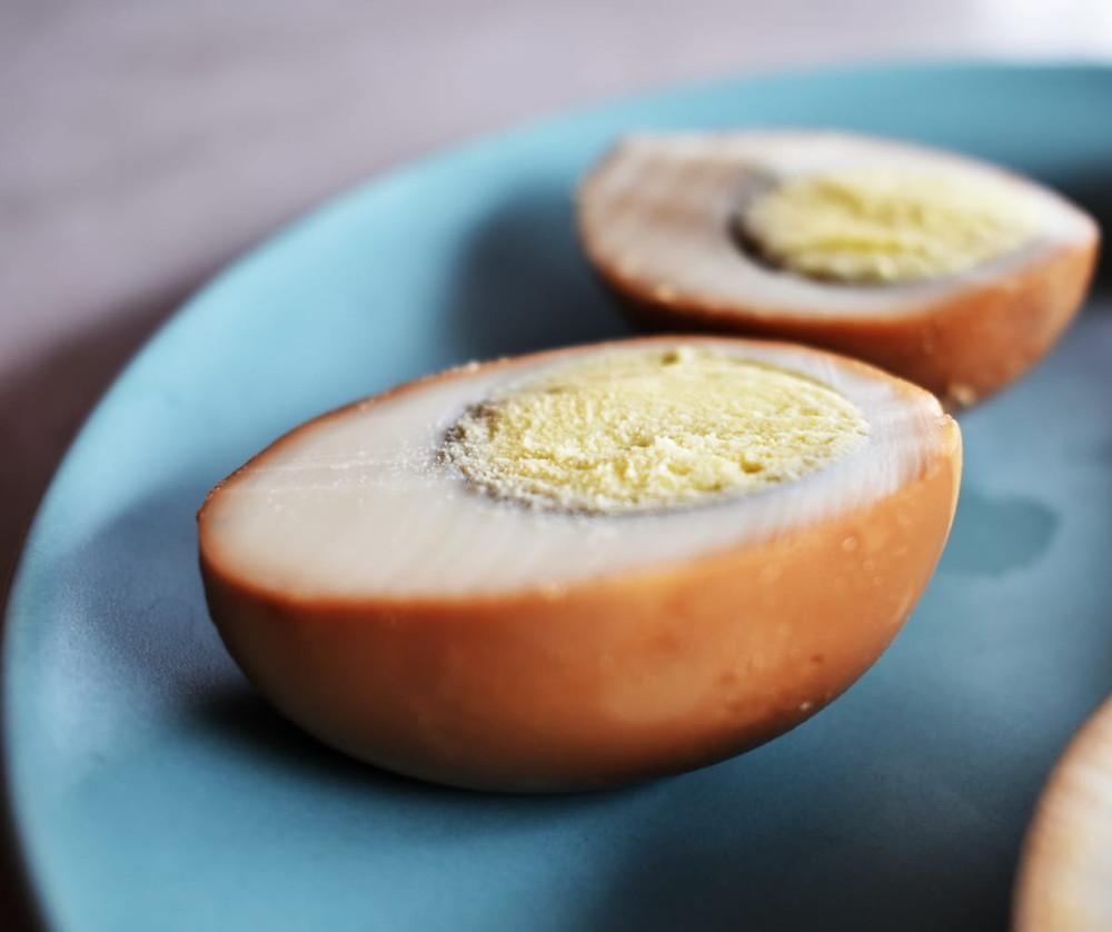 mauritian roasted eggs dizef
