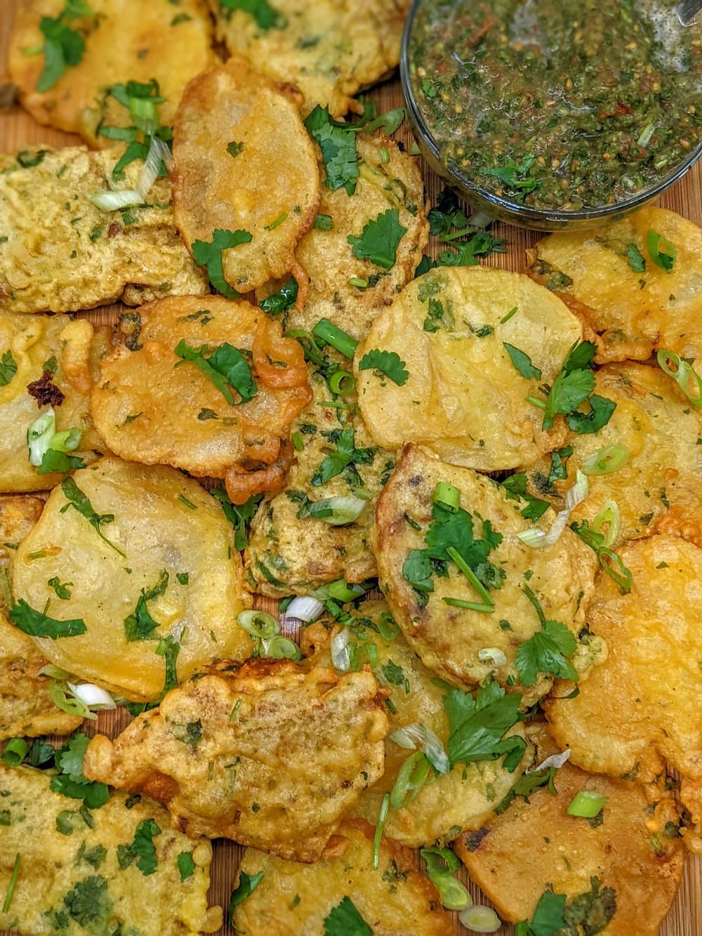 mauritian fried potato