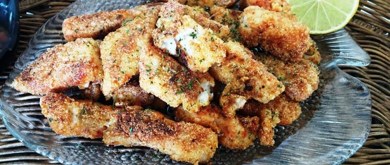 mauritian fried fish starter