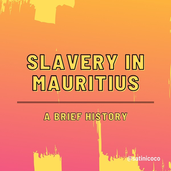 the history of slavery in mauritius