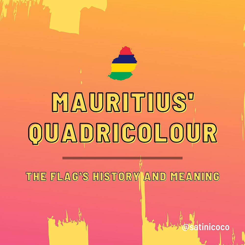 mauritius flag island history