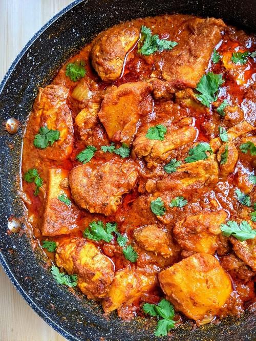 mauritian daube de poulet
