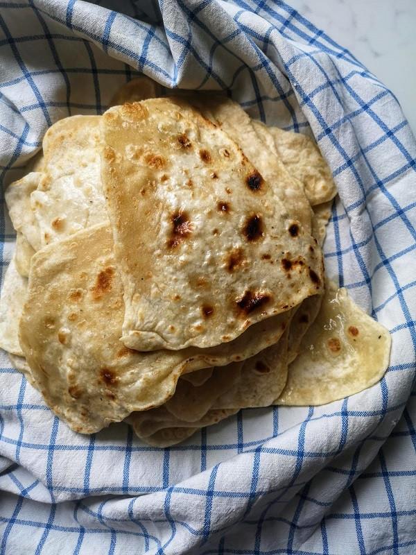 mauritian roti flat bread