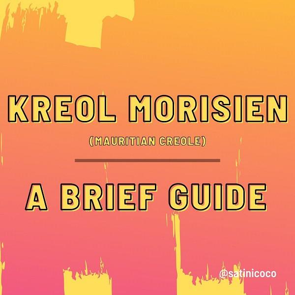 a guide to mauritian creole