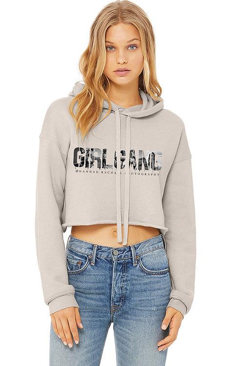 GirlGang Crop Sweatshirt - HeatherDust