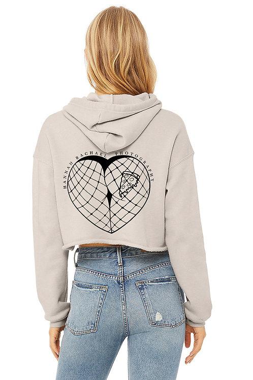 BoudieLove Crop Sweatshirt - Heather Dust