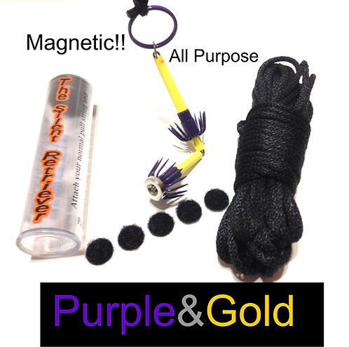 Purple & Gold Magnetic
