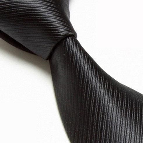 The Basic Black Necktie