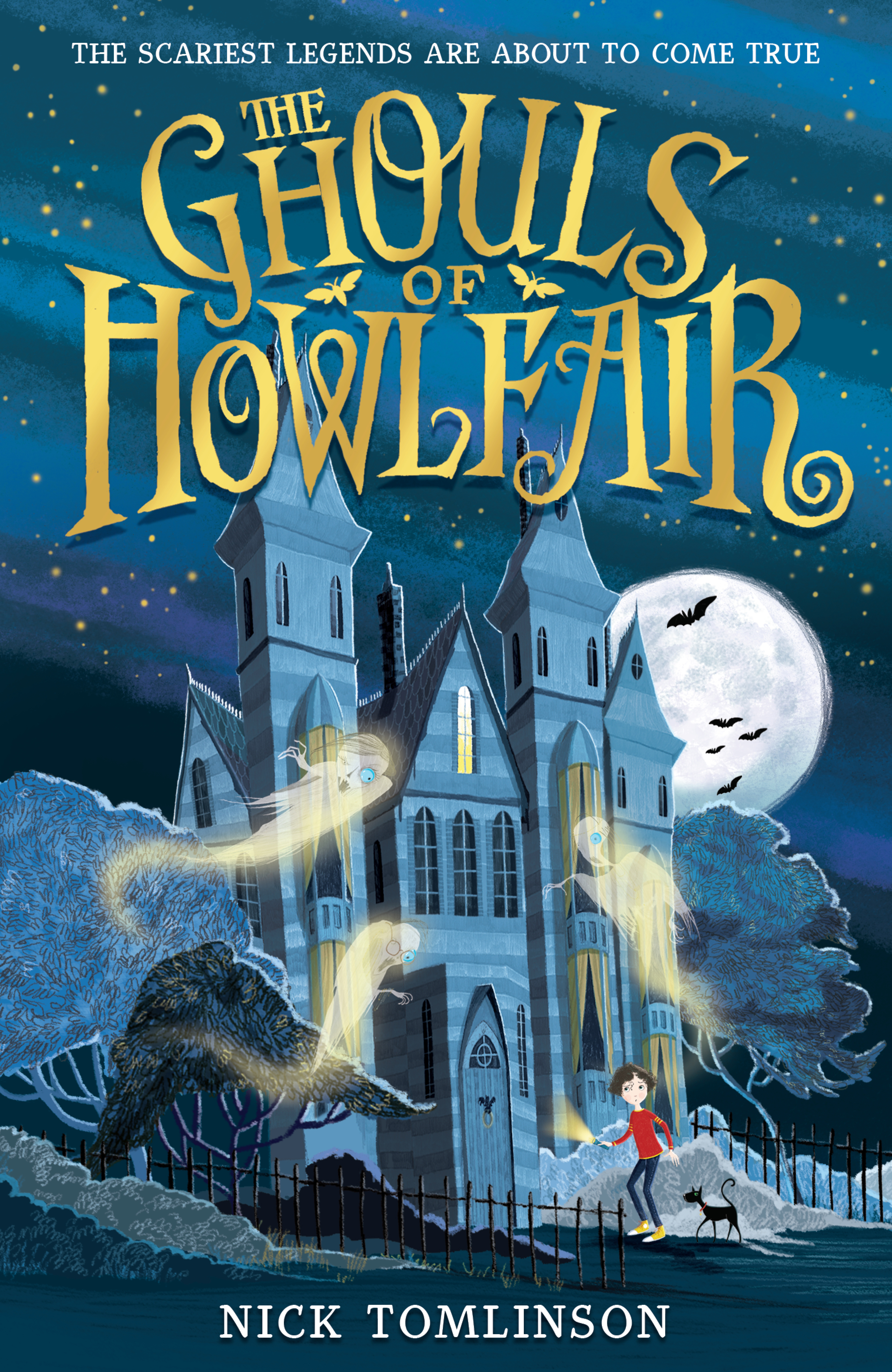 The Ghouls of Howlfair | Nick Tomlinson (cover artwork by Kim Geyer)