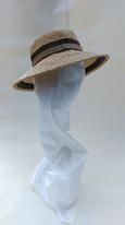 1950s style straw hat