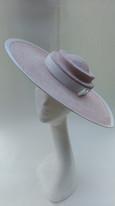 1940s style straw hat