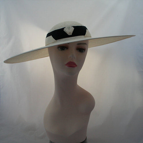 Art deco summer hat