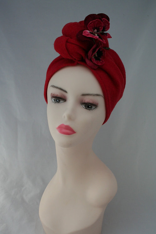 Felt turbans