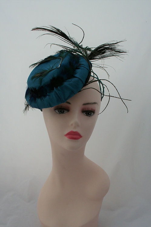 Silk Cocktail hat