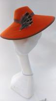 1930s style felt hat