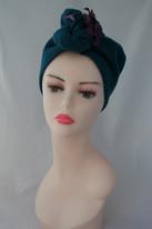 1940s style turban