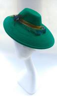 1940s style felt hat