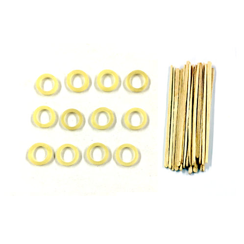 Extra Shear Pins and Extra Retention Bands