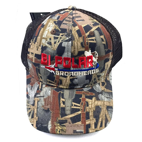 Bi-Polar Broadheads Camo Hat