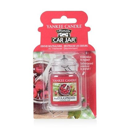 RED RASPBERRY CAR JAR