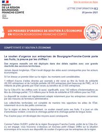PLAN DE RELANCE - Une chance pour la Bourgogne-Franche-Comté