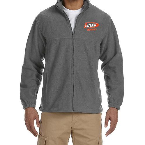 8oz Full Zip Fleece