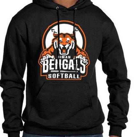 Softball Sweatshirt with Diman Bengal