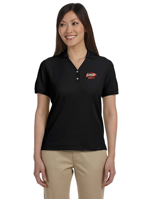 Women's Pima Piqué Short-Sleeve Polo
