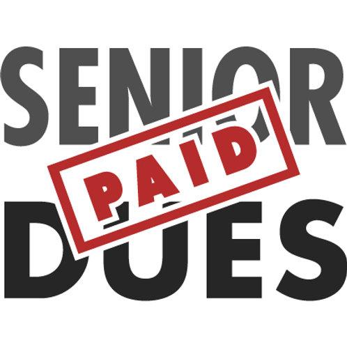 Senior Dues