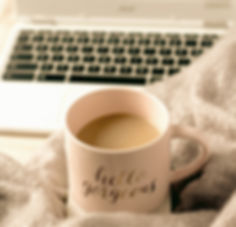 Cozy%20coffee%20blanket%20and%20computer