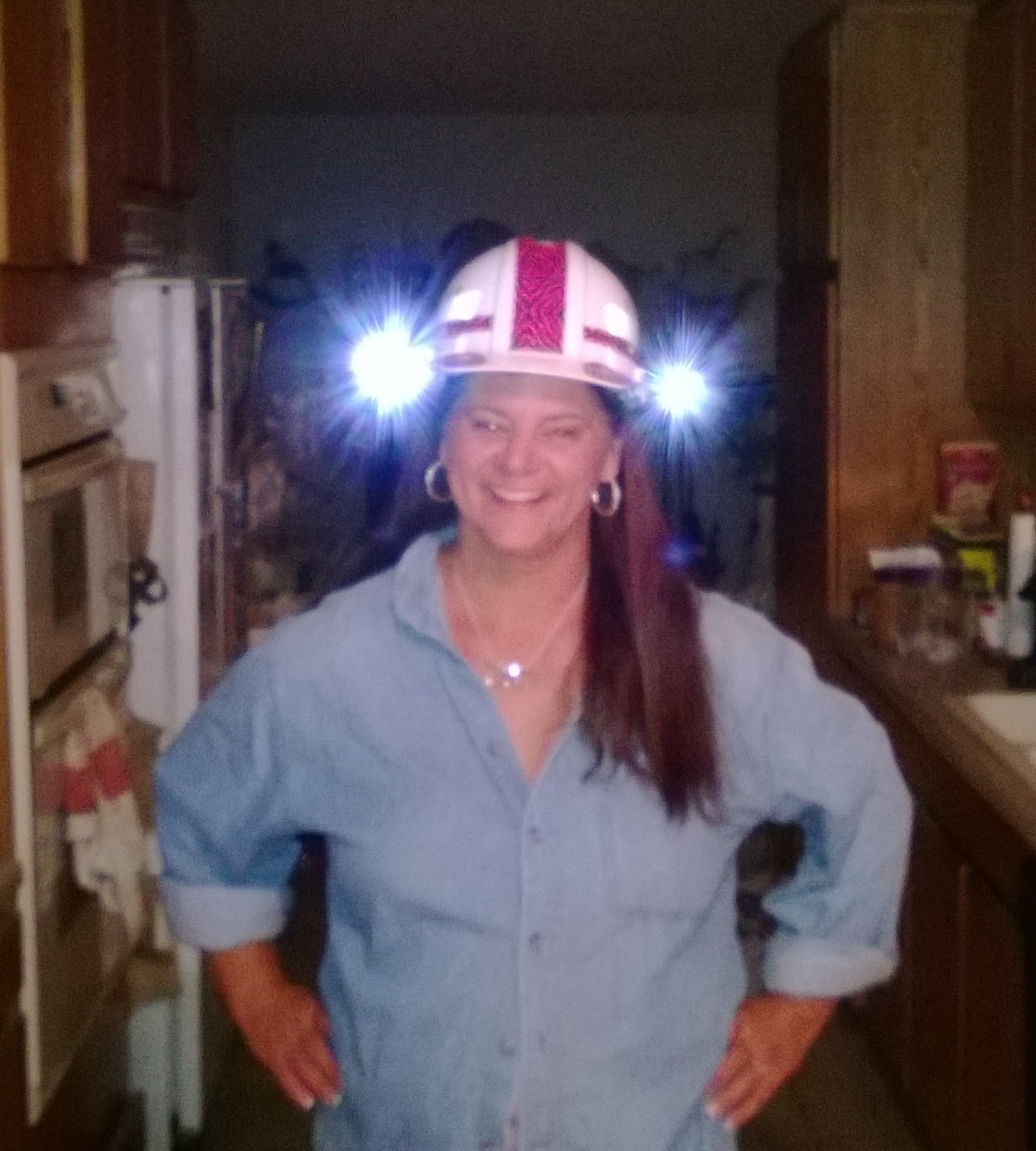 Pet Sitter Head Lamp!