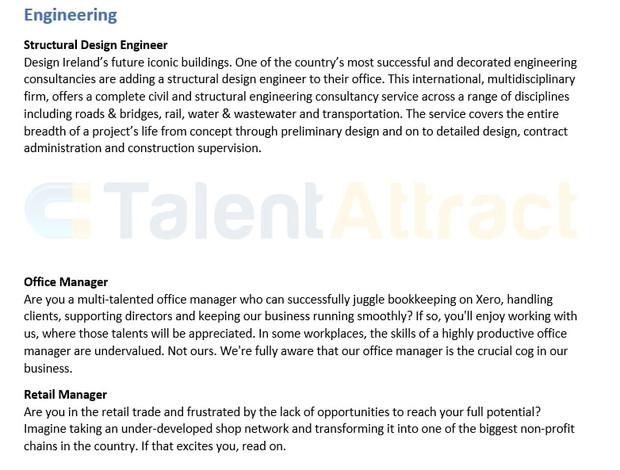 Engineering Job Description