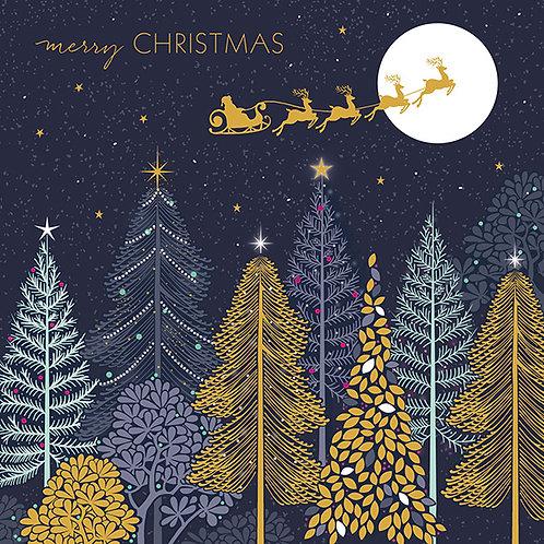 "Karten-Set ""Merry Christmas"" (8 Karten)"