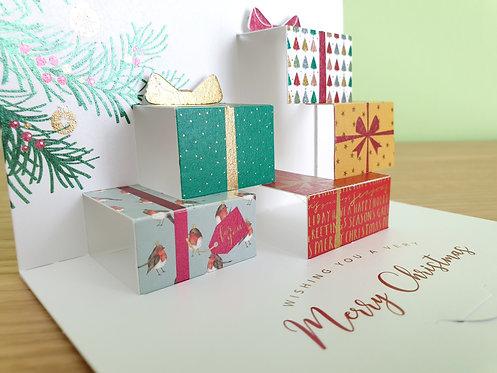 """Pop Up Karte """"Geschenke"""""""