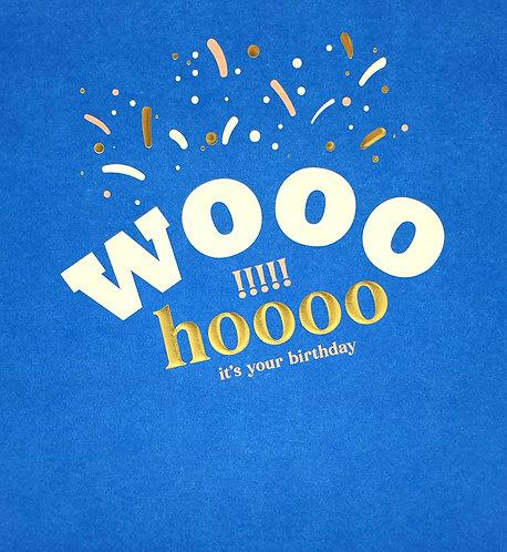 Wooohoooo!!! It's your Birthday!