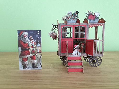 "3D Karte ""Christmas Hut"""