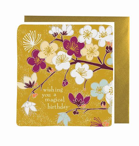 Wishing you a magical Birthday!
