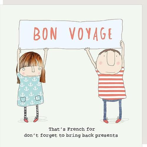 Bon Voyage - That's French